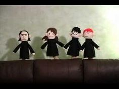 Potter Puppet Pals: Potions Class - YouTube