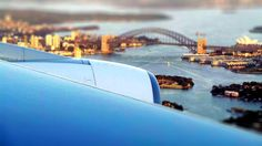 Sydney Harbour from aboard the Emirates A380 reg A6-EEP flight EK413 AKL SYD approaching runway 16R on 07FEB16. Beautiful summer evening just before sunset. Hello tomorrow and keep discovering. Pic by AHB. @emirates #hellotomorrow #emirates #aviationphotography #avgeek #sydney #sydneyairport #sydneyharbour #auckland #sky #sydneyharborbridge #sydneyharbourbridge #ahb #airlinehubbuzz #engine #wing #plane by airlinehubbuzz http://ift.tt/1NRMbNv