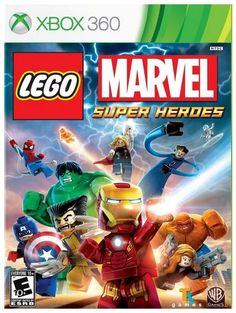 LEGO Marvel Superheroes -- the perfect combo!