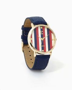 charming charlie | Liberty Studs & Stripes Watch | UPC: 410006564114 #charmingcharlie