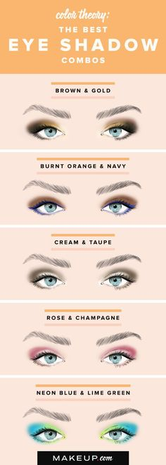 Doing pretty eye shadow doesn't have to be complicated, especially when you have a simple 2-step tutorial. We have pretty eye shadow color duos that look great and that are simple to do if you want an easy eye makeup look!