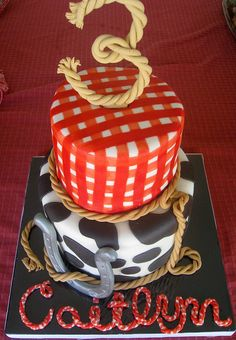 Cowgirl Themed Cake | Flickr - Photo Sharing!