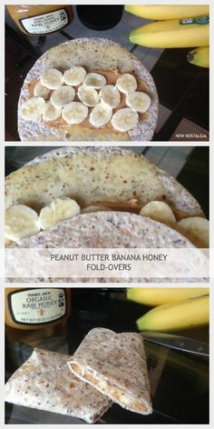 Peanut Butter Honey Fold-Overs - these are so great for breakfast, lunch, or snack.  Take it on the go.  Easy & healthy...kids love them! #lunchbox