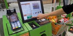 Il futuro delle casse al supermercato #lavoro #tech #economia #marketing