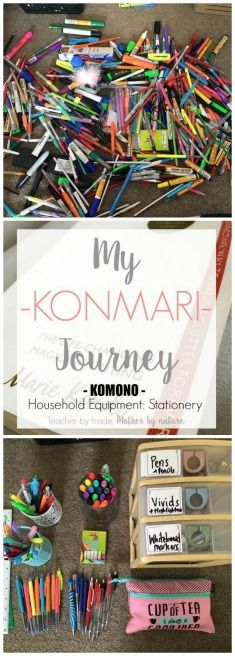 Teacher by trade, Mother by nature: My KonMari Journey: Household Equipment - Stationery