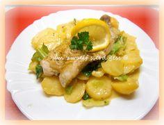 Kartoffel-Wirsinggemüse mit Rotbarschfilet
