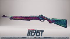 "New ""Hyper Beast"" themed skin. As you can see the artwork is different from the other 2 skins. Hyper Beast, Cs Go, Workshop, Artwork, Nova, Atelier, Work Of Art"