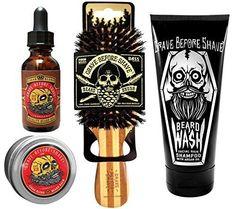 Mustache grooming Grave Before Shave Beard Care Pack Cigar Vanilla Blend Kit #Mustachegrooming