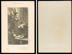 Retrat de tripulant de la Compañía Trasatlántica Española. Foto: Napoleón. 1906.  Donació: M. Brull Gonzalez. MMB 72687F Cover, Art, Pictures, Kunst, Blankets, Art Education, Artworks