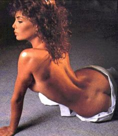 And one for the boys. Old school but what a fitty. Weird Science's Kelly LeBrock *wolf whistle*