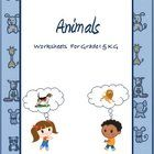 These worksheets are tailored for Grade 1 and Kindergarden kids. Its a set of 9 worksheets covering the following topics 1. Food for Animals 2. Us...