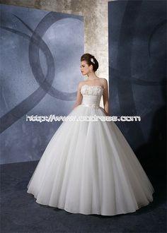 Elegant Jewel Princess Natural Satin Wedding Dresses, elegant jewel wedding dresses, prince wedding dresses.white wedding dresses,