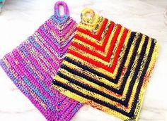 Topflappen Accessories, Crochet Hot Pads, Products, Amazing, Cotton, Ornament