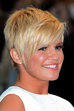 Charming Pixie Cut with Messy Top and Cool Layers