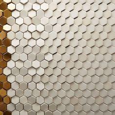 Stunning Textural Metal and Ceramic Tiles from Giles Miller Studio