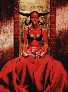 Amina Oil Painting by Saturno Butto Dark Fantasy, Fantasy Art, Demonology, Billy Joel, Angels And Demons, Italian Artist, Artistic Photography, Religious Art, Dark Art