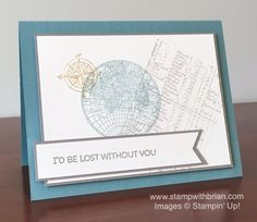 The Open Sea, Cottage Greetings, Stampin' Up!, Brian King, PPA261