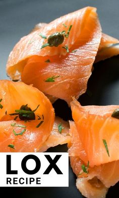 An easy homemade lox recipe (smoked salmon recipe). Making your own lox is very easy. I'll show you how to store it and what to do with leftover lox. Salmon Lox, Smoked Salmon Bagel, Smoked Salmon Recipes, Smoked Fish, Lobster Recipes, Fish Recipes, Seafood Recipes, Cooking Recipes, Seafood Appetizers