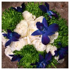 Julie's flowers of Geist Wedding flowers bridal bouquet www.juliesflowers.com