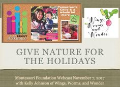 Click to Get lots of super fun ideas on making your holiday gift shopping season fun, stress free, nature centric, and good for both people and planet!