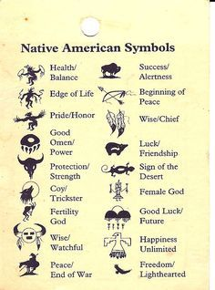 native american animal symbols - Google Search