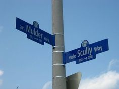 Mulder & Scully at a crossroads...as usual
