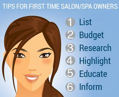 Tips for First Time Salon or Spa Owner