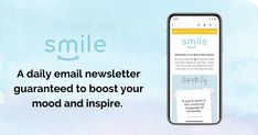 Check out Smile, my favorite way to start the morning! It's a newsletter full of uplifting stories and news guaranteed to help you start your day feeling good. Sign up here for free: Email Newsletters, Earn Money Online, Good News, Feel Good, Language, Inspirational Quotes, Smile, Mood, Feelings