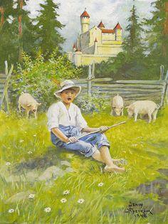 Jenny Eugenia Nyström (1854 - 1946) World of Childhood - «Впечатления дороже знаний...»