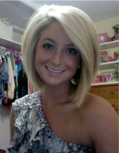 This makes me want short hair again... But ill regret it if i do it!