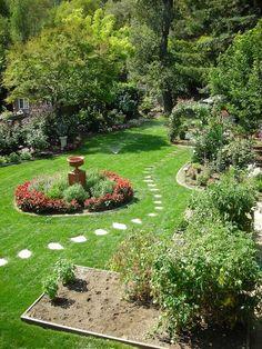 Wonderful My Dadu0027s Garden In Ross, California. When Heu0027s Not Working, Heu0027s Out There Home Design Ideas