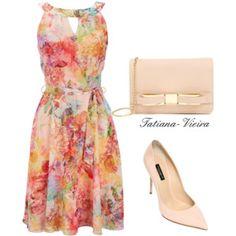 I don't like the shoes but I love the dress
