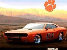 Clemson Dukes of Hazzard car