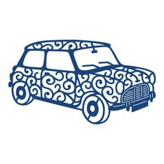 Tattered Lace - Dies - 1960's Car