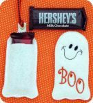 Snack Size Candy Bar Holders using your 4 x 4 machine embroidery hoop.  Cute!!