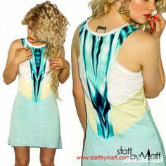 Mint Mesh Dress