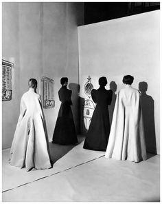 Charles James Opera Coats, photo by Charles James, Vogue, 1936