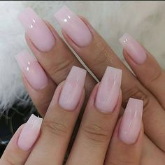 Are you ready to change your nails? Take a look at our trendy simple coffin nails. These are the most popular ballet nails in Cute Acrylic Nail Designs, Simple Acrylic Nails, Best Acrylic Nails, Beautiful Nail Designs, Stylish Nails, Trendy Nails, Cute Nails, Perfect Nails, Gorgeous Nails