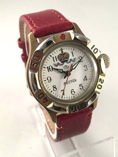 Vintage Ussr military men's watch called EAST  by SovietEmpire