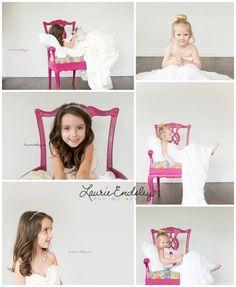 laurieendsley.com little girls in wedding dresses