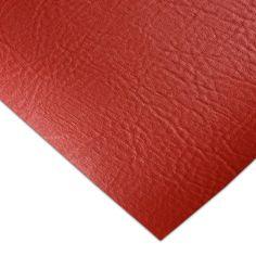 PVC Tapicería Neptuno Rojo - Esta colección de telas de PVC imitación piel (Modelo Neptuno) viene en siete colores básicos y es perfecta para tapizar asientos de moto y para embarcaciones. #MWMaterialsWorld #red #rojo #tela  #manualidades #confeccion Material World, Home Decor, Model, Upcycling, Red, Leather, Fabrics, Decoration Home, Room Decor