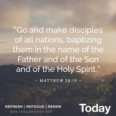 HOLY SPIRIT: THIRD PERSON OF THE TRINITY