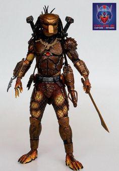 """7/"""" figures Neca Scale Predator /""""Al Dillon/"""" Head Cast 6/"""""""