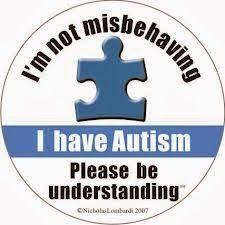 autismos no autismo: No soy maleducada. Tengo Autismo. Se compresivo.