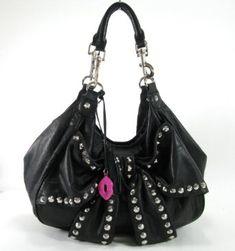 Betsy Johnson Studded Hobo Bag                                                                                                                                                     Mehr