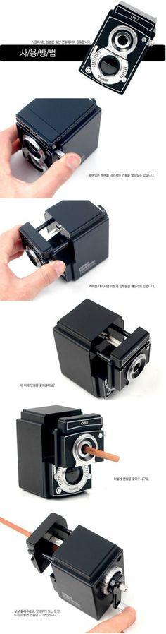 Classic Camera Style Pencil Sharpener $24.99
