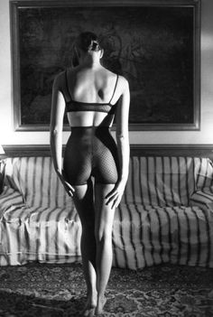 Photo:Ferdinando Scianna.... So much more then you get with Helmut Newton. Less gratuitous kink.