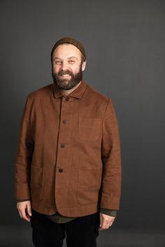 The Foreman PDF - Merchant & Mills Coat Patterns, Sewing Patterns, Merchant And Mills, Sewing Blogs, Wool Suit, Jacket Pattern, The Man, Cotton Canvas, Work Wear