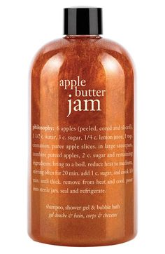 philosophy 'apple butter jam' shampoo, shower gel & bubble bath (Nordstrom Exclusive) available at Nordstrom