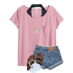 A fashion look from July 2016 featuring H&M t-shirts, Free People bras and Birkenstock sandals. Browse and shop related looks.